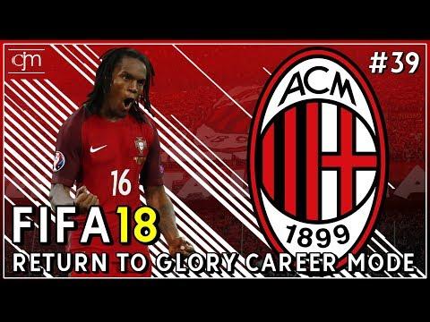 FIFA 18 AC Milan Career Mode: Negosiasi Transfer Renato Sanches & Tur Pramusim #39