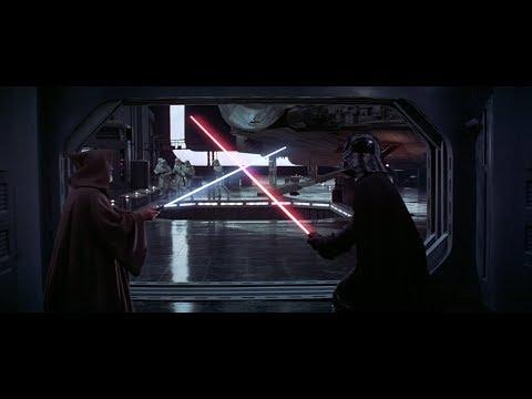 Звёздные войны: Эпизод 4 – Новая надежда \ Оби-Ван VS Дарт Вейдер