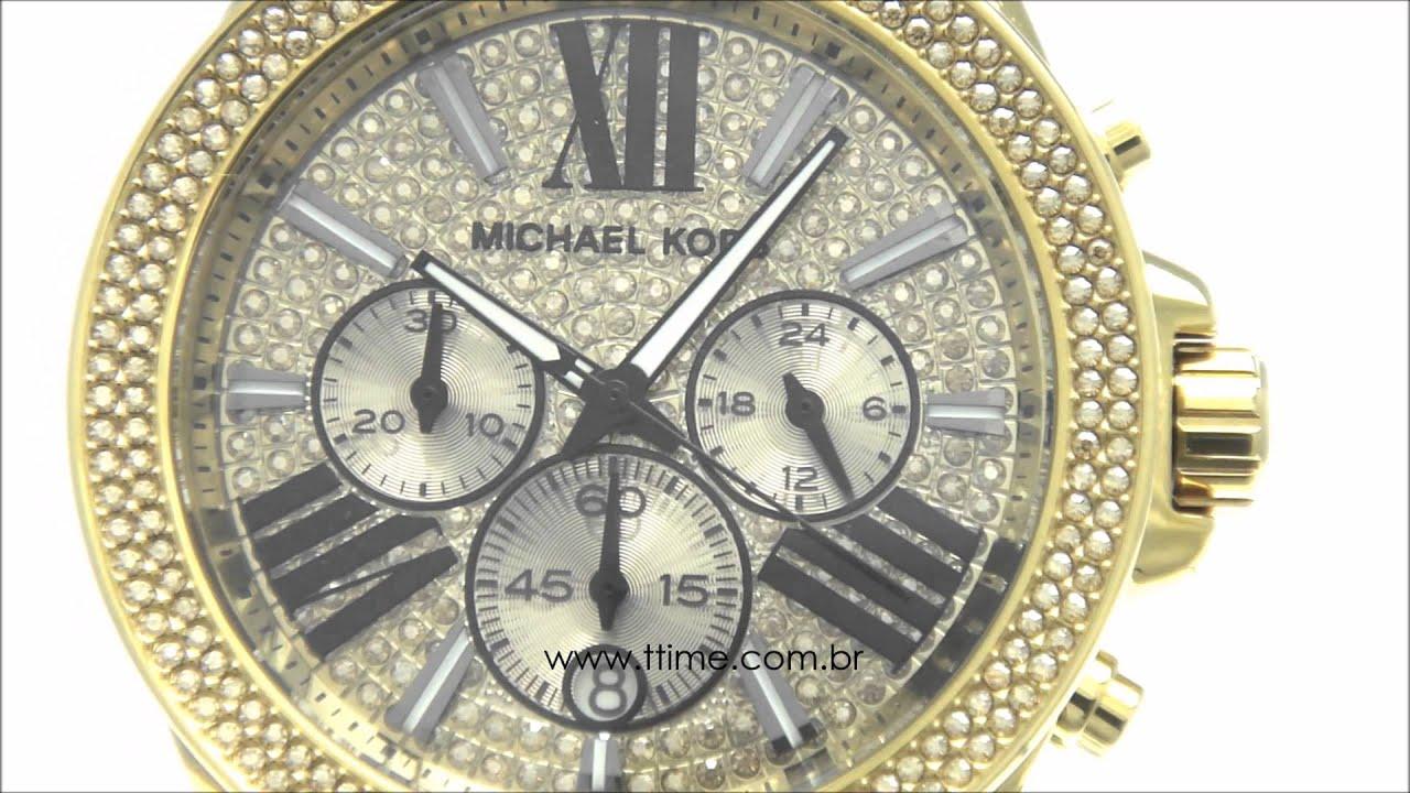 43fa12667f6 Relógio Michael Kors MK6095 4DN - YouTube