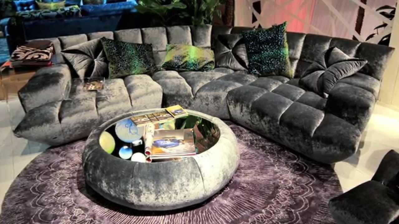 Verrückte Sofas bretz messestand immcologne 2014 lifestyle tv