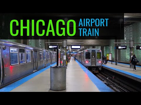 Chicago O'Hare Airport Train To The City