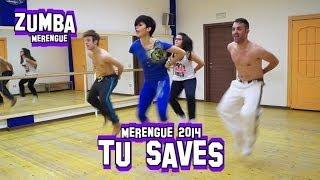 Joey&Rina ZUMBA - Merengue - Tu Saves Zumba Merengue 2014