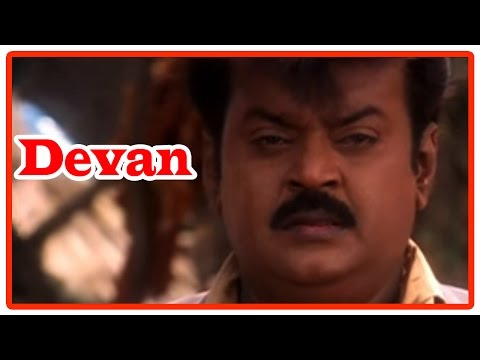Devan Tamil Movie | Scenes | Vijayakanth Meets Villagers Of Orissa | Ezhai Geetham Song