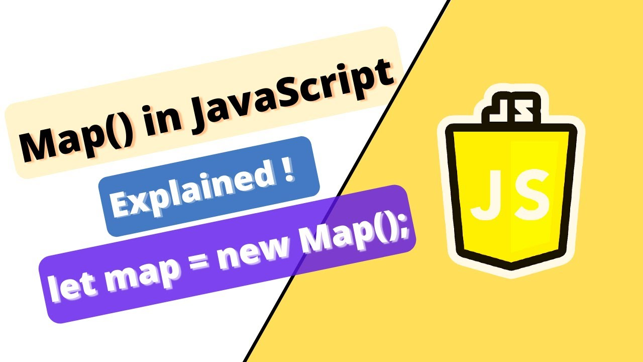 Map() in JavaScript: complete explanation with examples