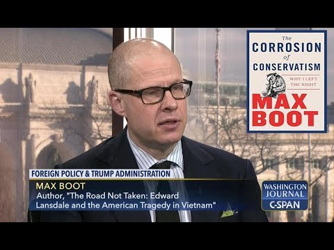 Max Boot Discusses the State of Conservatism Washington Journal Oct 11 2018