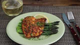 Fish Recipe - Parmesan Crusted Tilapia Fillets