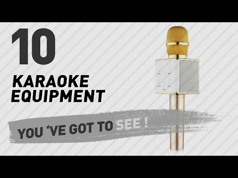 Karaoke Equipment, Top 10 Collection // New & Popular 2017
