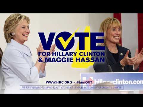 Maggie Hassan and Hillary Clinton for Equality