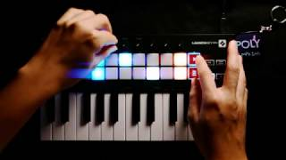 Polypumpkins - Launchkey Mini Mk3 ✘ Ableton Live Performance 📻