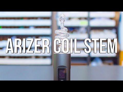 Arizer Coil Stem – Product Demo | GWNVC's Vaporizer Reviews