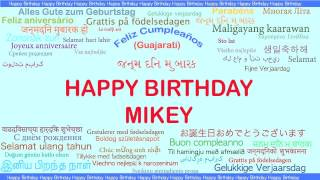 Mikey   Languages Idiomas - Happy Birthday