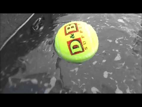 Hot Tub Cleaning Tip, Tennis Ball