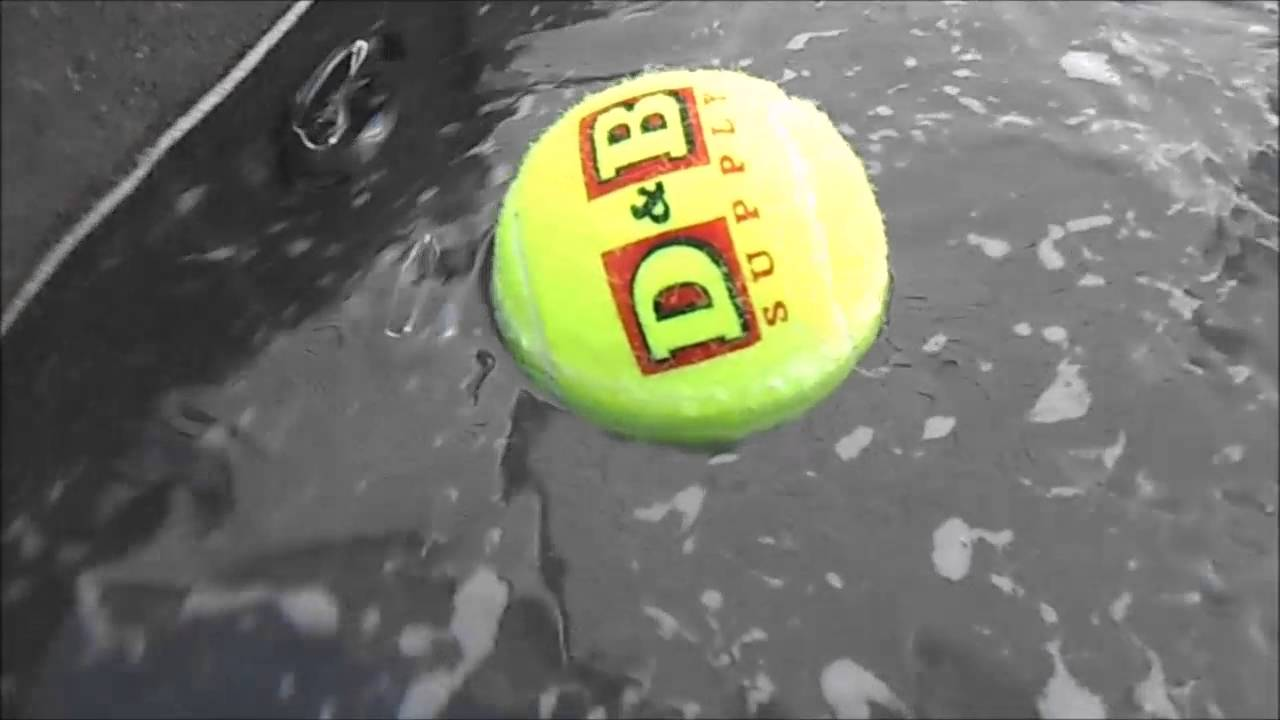 Hot Tub Cleaning Tip, Tennis Ball - YouTube