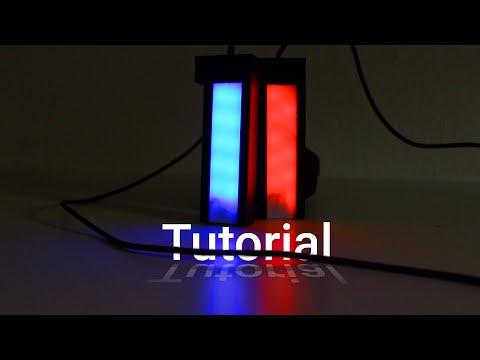 DIY modular RGB video lights | How to make them