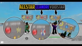 RUNNING WITH AN ALLSTAR AND LEANDRE! {RB WORLD 2} [ROBLOX]