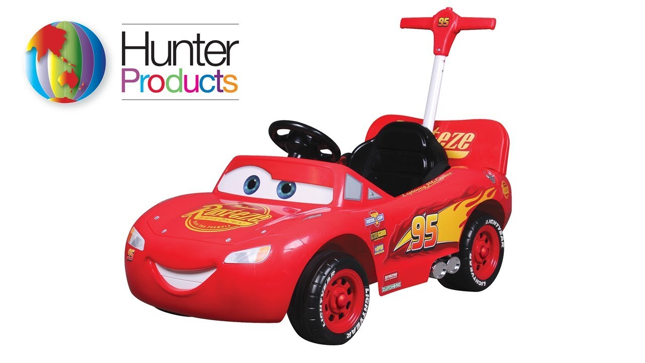 8736 Disney Cars Mcqueen 2 In 1 Ride On Push Car Embly