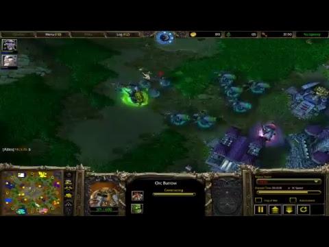 War Craft 3 TFT-Battle.Net: Mur'gul Oasis, 4v4 map