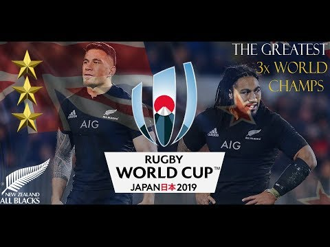 The All Blacks ♦ Greatest Team In History ♦ RWC 2019 Promo