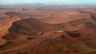Flying over Sossusvlei, Walvis Bay, Damaraland Namibia -- Astonishing Scenery!