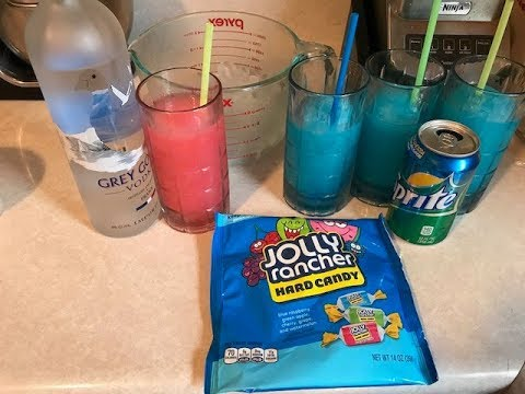 How To Make A Frozen Jolly Rancher Drink!