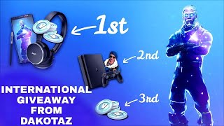 Samsung Galaxy Note 9 + Fortnite Galaxy Skin + more International Giveaway from Dakotaz
