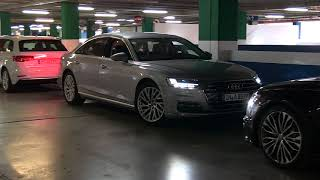 All-New Audi A8 Parking--LOOK, NO HANDS!!