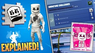 Fortnite Marshmello Event EXPLAINED! (Free Rewards, Challenges, Date, Skins & EVERYTHING!)