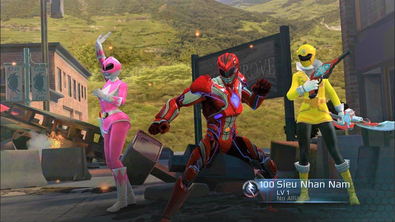Power Rangers: Legacy Wars #1 | Siêu nhân đỏ và siêu nhân gao đen cùng siêu  nhân hồng xuất trận