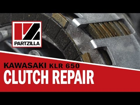 KLR 650 Clutch Replacement | Partzilla.com