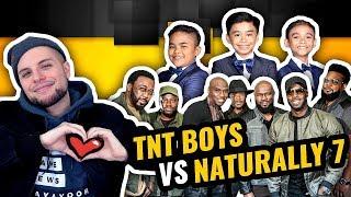 TNT Boys VS Naturally 7 39 Flashlight 39 VS 39 Fix You 39 The World 39 s Best W Scores REACTION