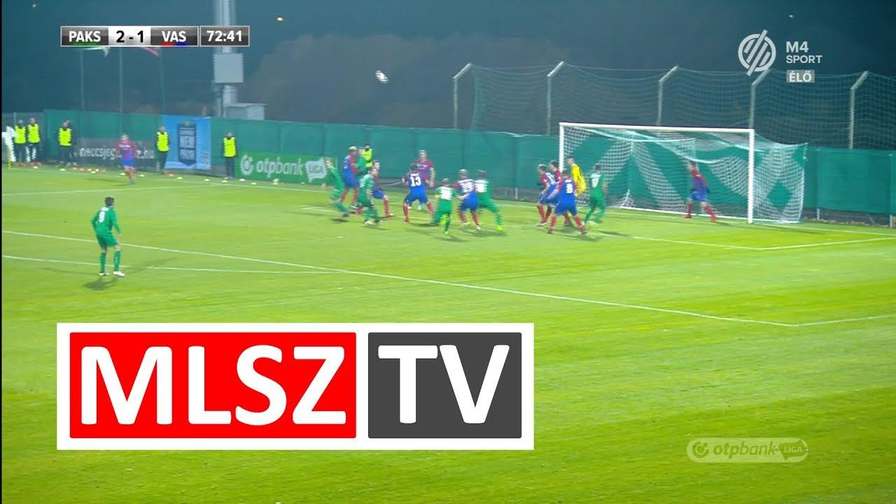 Lenzsér Bence gólja a Paksi FC - Vasas FC mérkőzésen