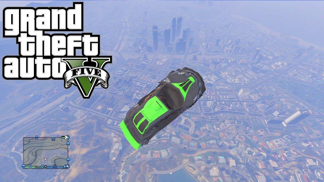 Gta Car Stunts Crashes