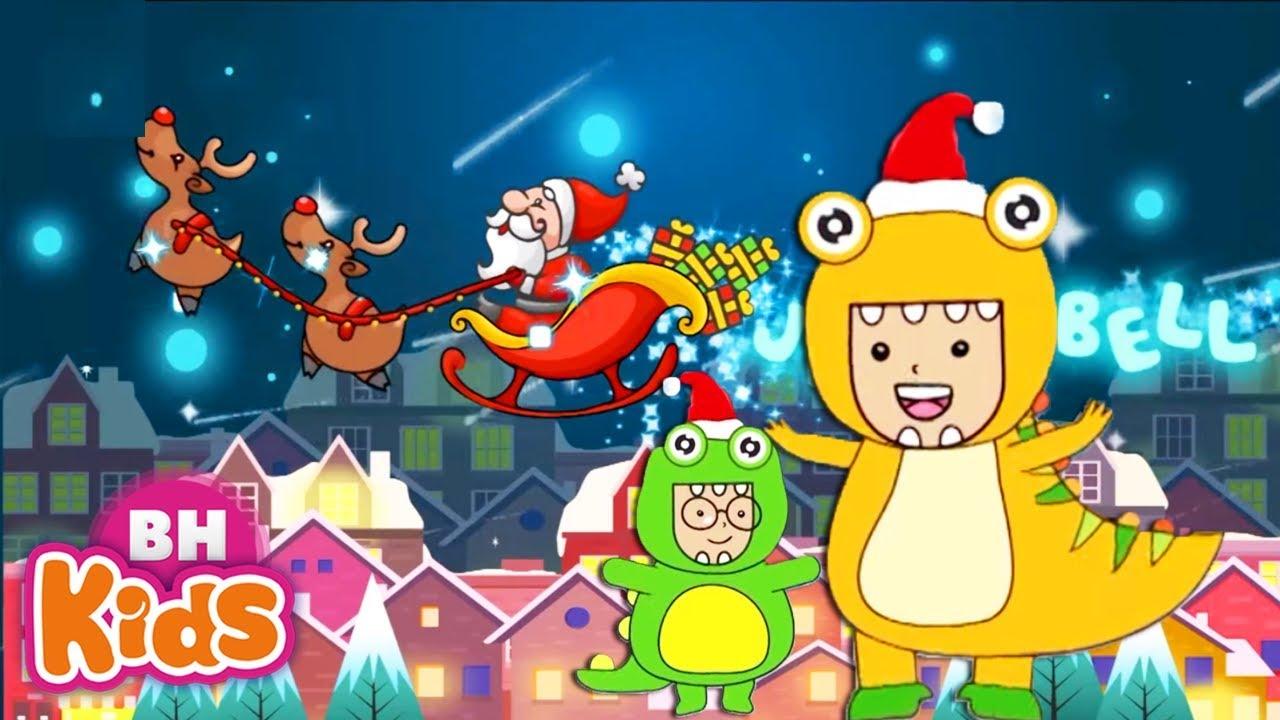Liên Khúc Giáng Sinh Vui Nhộn Cho Bé Yêu ♫ Jingle Bells ♫ Nhạc Thiếu Nhi Hay