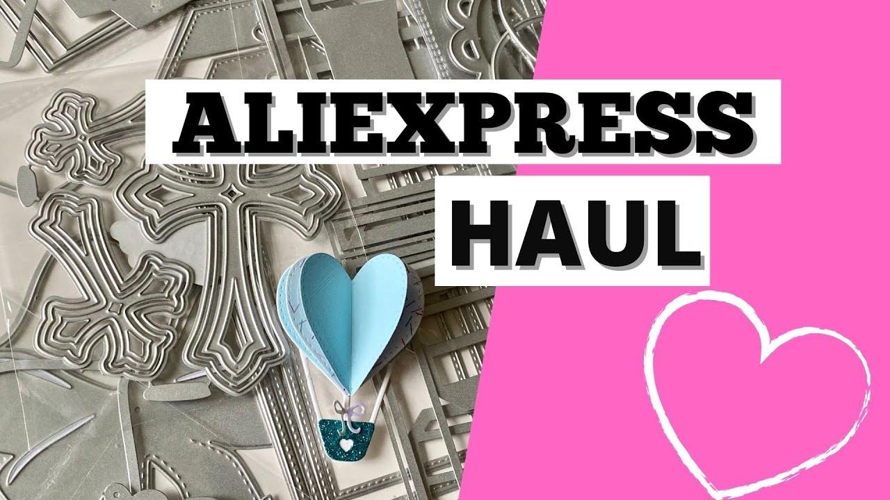 ALIEXPRESS HAUL | NEW RELEASE | VALENTINE DIES