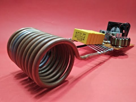 Induction Heater Circuit 12v DC Make Easy To Home New Ideas Electronics