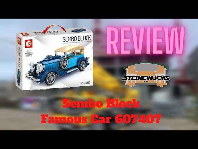 Review - Sembo Famous Car 607407