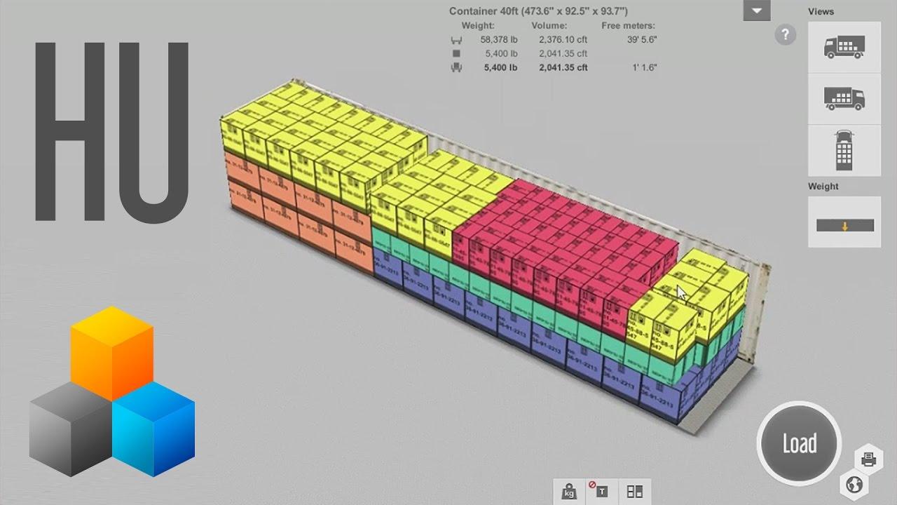 42fed78daf EasyCargo | Kamion és konténer rakomány tervező szoftver
