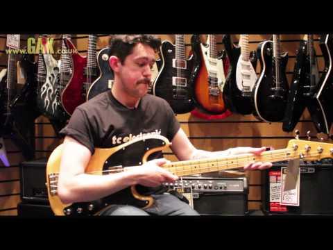Fender - Modern Player Telecaster Bass Demo at GAK