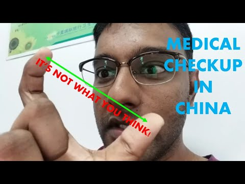 Medical Checkup in China  | Are you fit for a Chinese visa? | Malaysian Expat in China