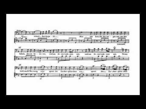 Mozart - Männer suchen stets zu naschen KV 433