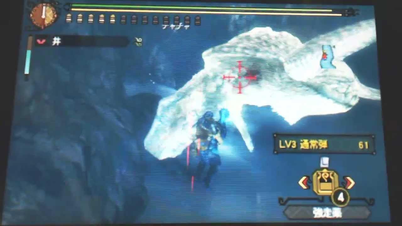 MH3G-最終決戦・ナバルデウス!(下位大海龍)-冥海重弩擊殺 - YouTube