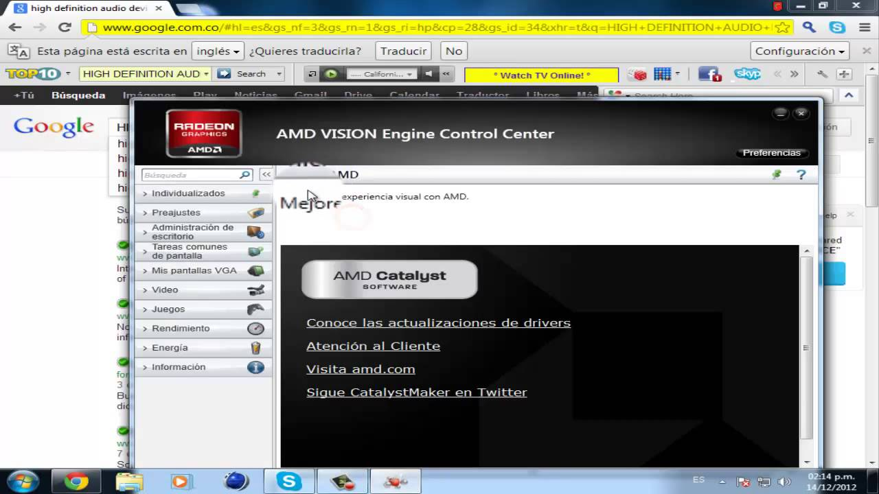 amd high definition audio device driver windows 7 32