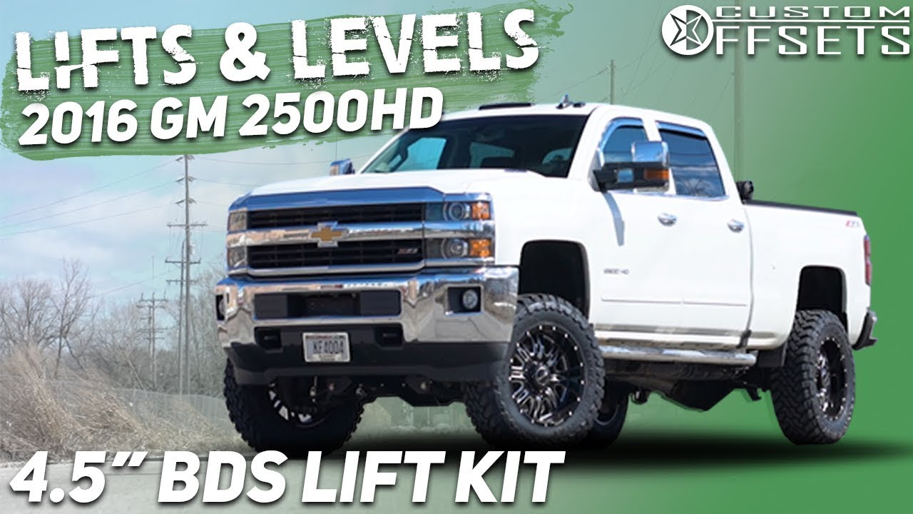 Best Lift Kit For Chevy 2500hd >> Lifts Levels 4 5 Bds Lift Kit 2011 2019 Gm 2500hd
