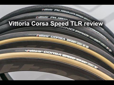 Black 700 x 25mm Vittoria Graphene Corsa Speed TLR Folding Clincher Tyre