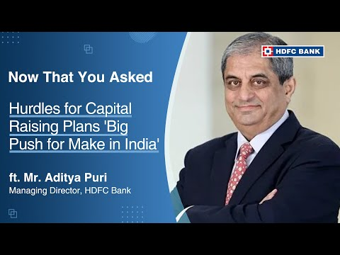 Aditya Puri, MD, HDFC Bank, on ET Now's The Interview