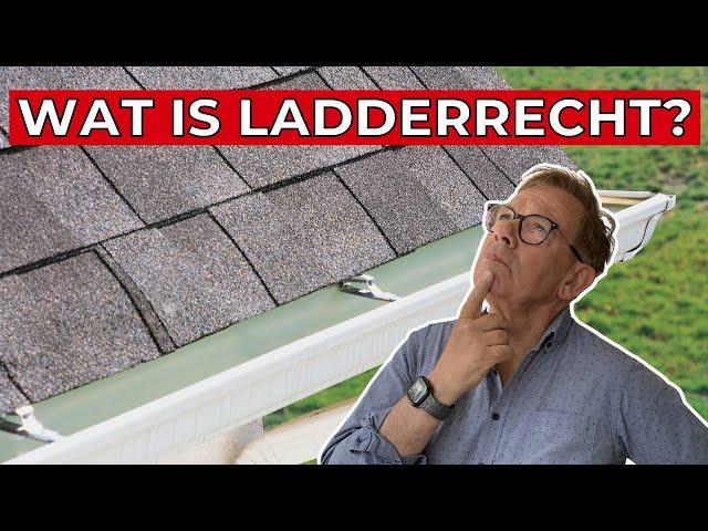 Overhangende goten of dakoverstek, erfdienstbaardheid, gootrecht en ladderrecht