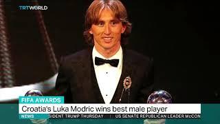 Luka Modric wins The Best FIFA Men's Player 2018 award