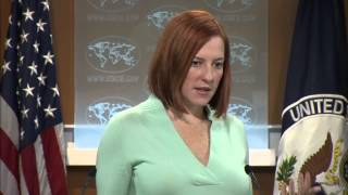 Daily Press Briefing: January 9, 2015