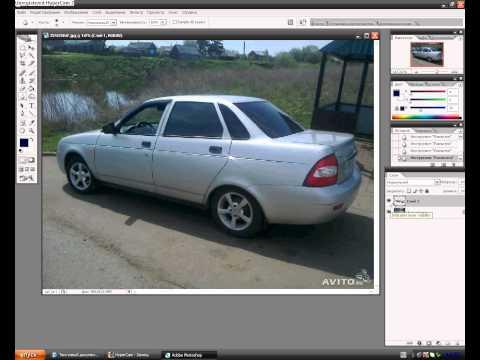 Меняем цвет машины способ 2-ой. Виртуальный тюнинг авто