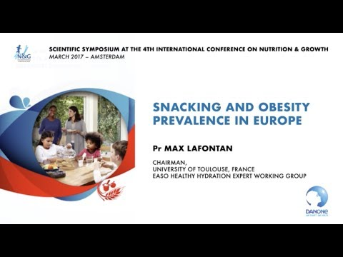 Snacking and obesity prevalence in Europe - Pr Max Lafontan